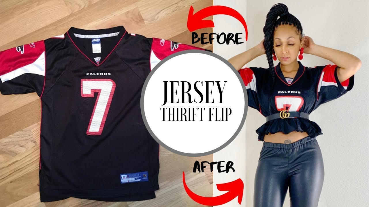 Look What I Made! JERSEY THRIFT FLIP  DIY Clothing Transformation 6