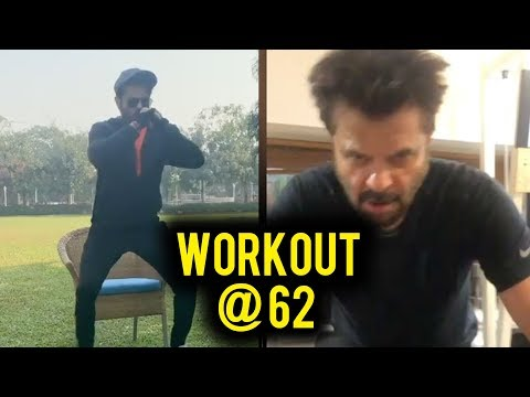 Anil Kapoor INSANE Workout At The Age Of 62 Is A MUST WATCH