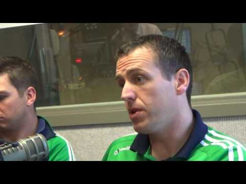 Gaelic Athletic Assocation visits the Gerry Quinn Irish Radio Show