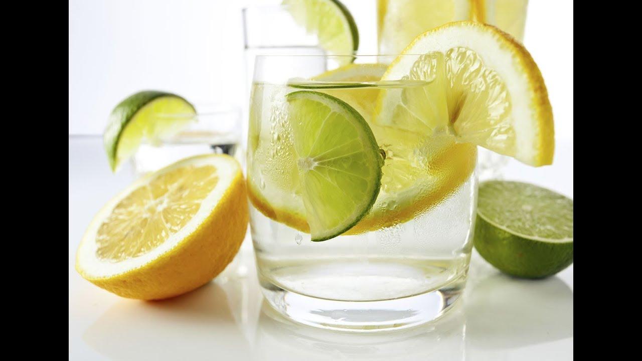 Her gün limonlu su içmek yerine