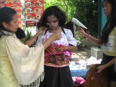 Philippine Costumes Halloween Contest Winners Star City - Manananggal / Fairy  sc 1 st  YouTube & Philippine Costumes: Halloween Contest Winners Star City ...
