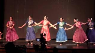 smitha nair and nice baratanatyam choreography