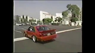 Tim Allen Burnout Contest with Jay Leno - Round I