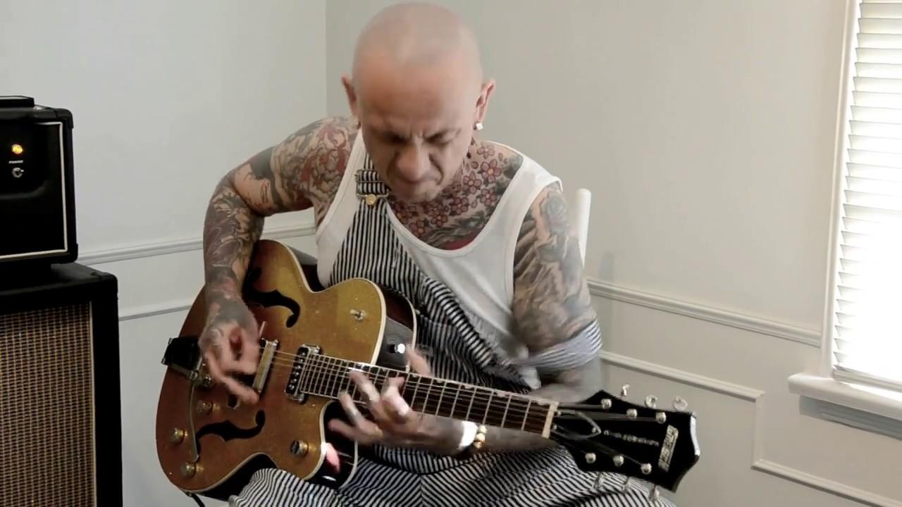 Gretsch Acoustic Guitars >> MAT RILE - GRETSCH Psychobilly guitarist guitar Rockabilly ...