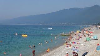 ч3 Пляжи Абхазии