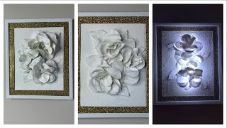 Diy Dollar Tree Glam Wall Art