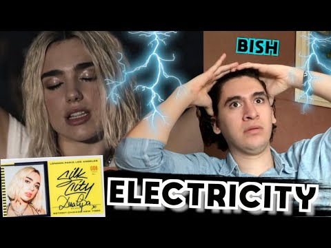 Dua Lipa, Silk City - Electricity ft. Diplo & Mark Ronson [REACCIÓN]