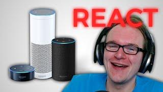 React: Jay als Amazon Alexa Stimme!