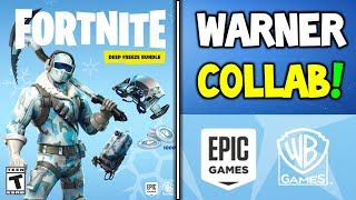 "*NEW* WARNER BROS TEAM UP WITH FORTNITE + ALL ""DEEP FREEZE"" $30 BUNDLE INFO! (Battle Royale)"