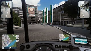 Bus Simulator 18 - First 22 Minutes of Gameplay (Tutorial and First Route) - Xbox One X