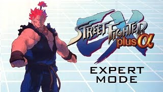 Street Fighter EX Plus Alpha Expert Mode Trials - Akuma