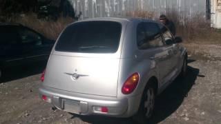 Видео-тест автомобиля Chrysler PT Cruiser (серебро, 2.4, 2000г., 3c8fy4bb91t322194)