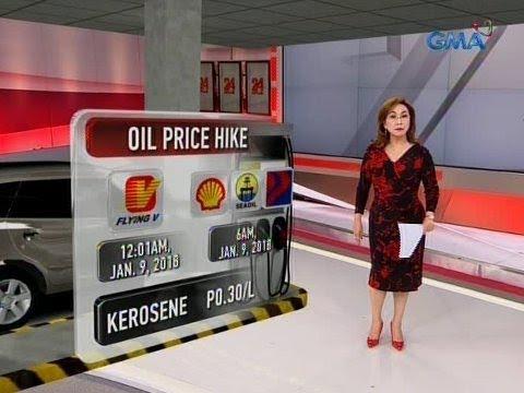 24 Oras: Taas-presyo sa diesel at kerosene, 'di pa raw dahil sa TRAIN Law