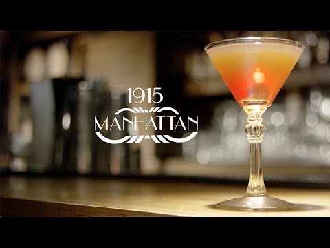 History of a Manhattan Cocktail | Counter Culture