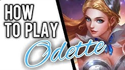 HOW TO USE ODETTE || MOBILE LEGENDS✔