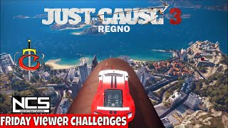 Just Cause 3 Friday Viewer Challenges