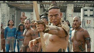 """Вождь пытается убить пленника Лапу Ягуара - """"Апокалипсис"""" отрывок из фильма"""