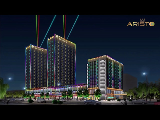 Aristo LED Dubai Branch Of Facade Lighting For Residential District