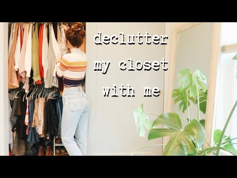 CLOSET CLEANOUT & CLEAN WITH ME | vlog
