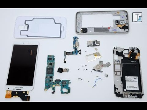 Samsung Core 2 (SM-G355H) Disassembly And Touch And Display Replacement