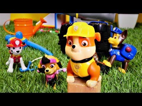 Spielzeugvideo für Kinder - Paw Patrol Toys - Rubble, der Tollpatsch