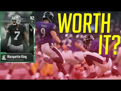 Best Kicker In Madden 18 - New Football Outsiders Player Reviews!
