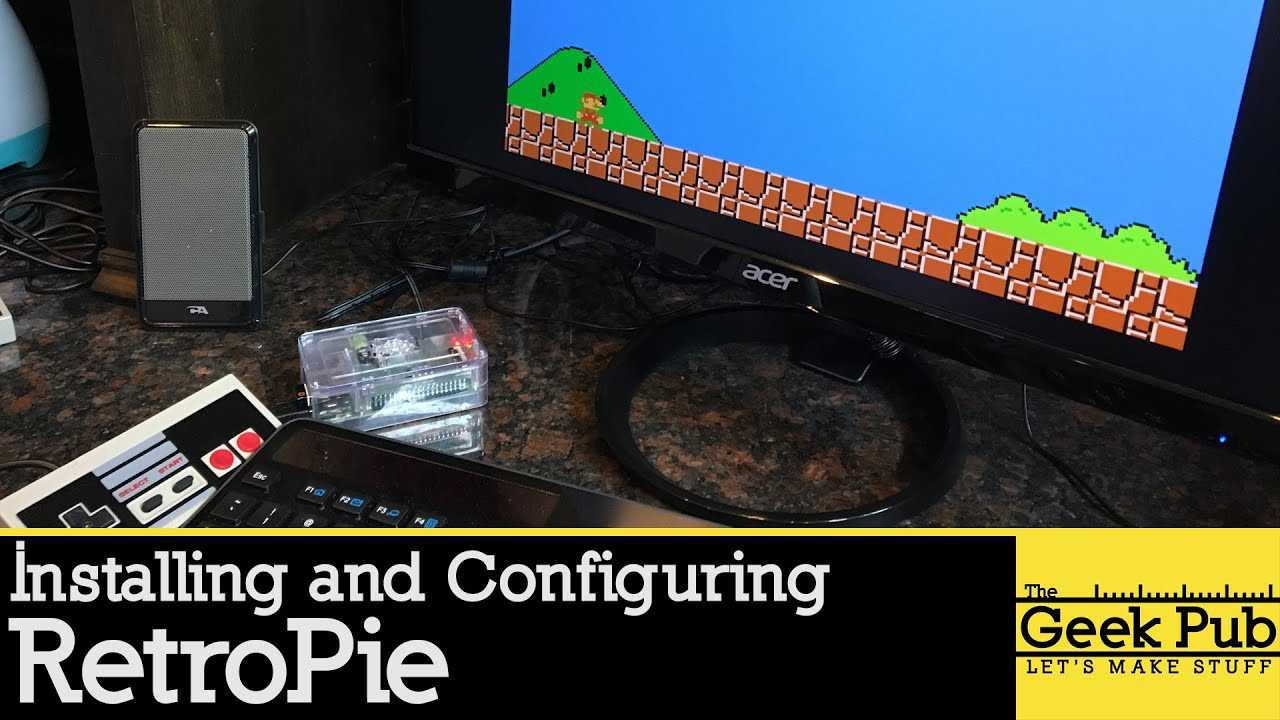 Setting up Retropie on a Raspberry Pi 3 for an Arcade Cabinet ...