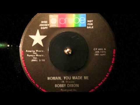 BOBBY DIXON - WOMAN, YOU MADE ME - ABC Records