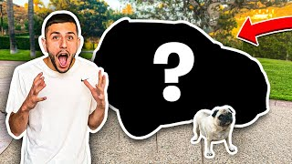 I SURPRISED HIM WITH HIS DREAM CAR!!