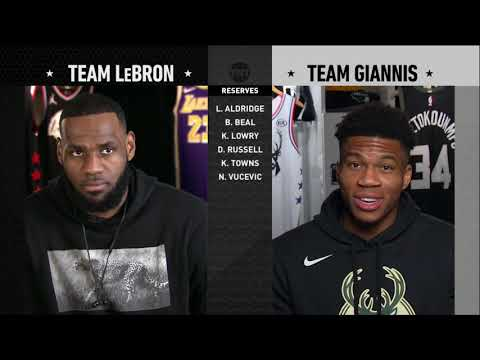 [TNT] 2019 All-Star Draft Team Giannis vs Team LeBron (07.02.19)