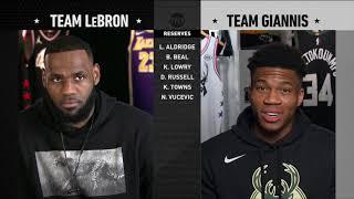 [TNT] 2019 All-Star Draft Team Giannis vs Team LeBron (07.02.19)