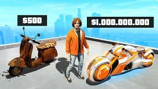 $500 vs $1,000,000,000 Bikes In GTA 5 RP!