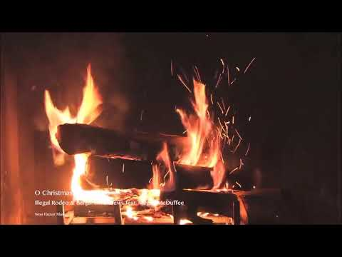 Americana Christmas Fireplace  by  Illegal Rodeo & Benjamin Andrews Mp3