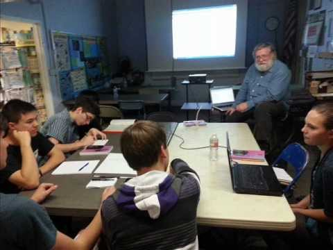 College Prep English Class at Excellence In Education, Monrovia, CA