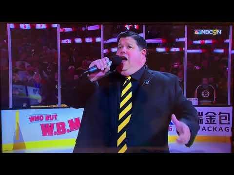 Jay Brown - Bartender Turned Bruins Anthem Singer