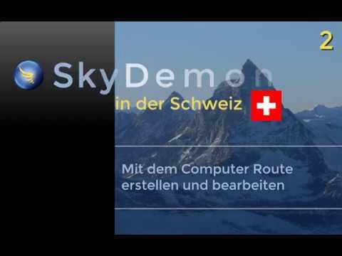 SkyDemon in der Schweiz (Tutorial - Video 2)
