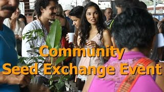 Community Seed Exchange Event at Vida Autentica in Costa Rica
