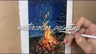 watercolor d…