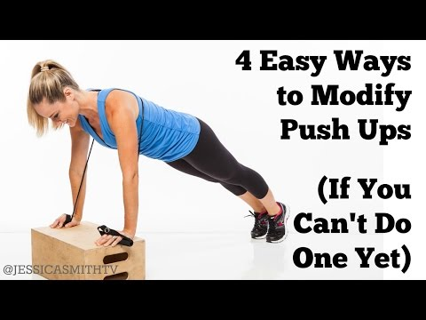 4 Easy Ways to Modify Push Ups If You Can't Do One Yet How To Do a Push Up Correctly for Beginners