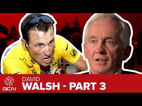 Lance Armstrong - Is He Worse Than Anyone Else? David Walsh Interview Pt. 3