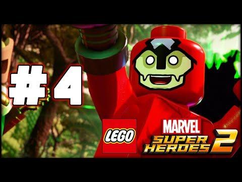 LEGO Marvel Superheroes 2 - Part 4 - Man-Ape! (HD Gameplay Walkthrough)