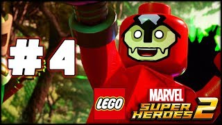 LEGO Marvel Superheroes 2 - Part 4 - Man-Ape! (HD Gameplay Walkthrough)