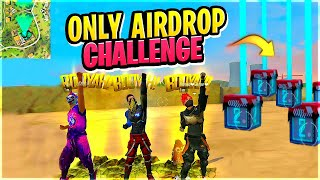 Factory Top Only Airdrop Challenge || Free Fire || Desi Gamers #Part2