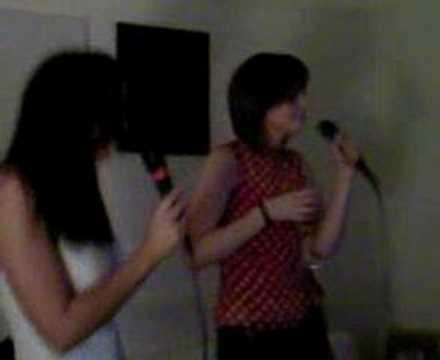 Emily and Vix Karaoke