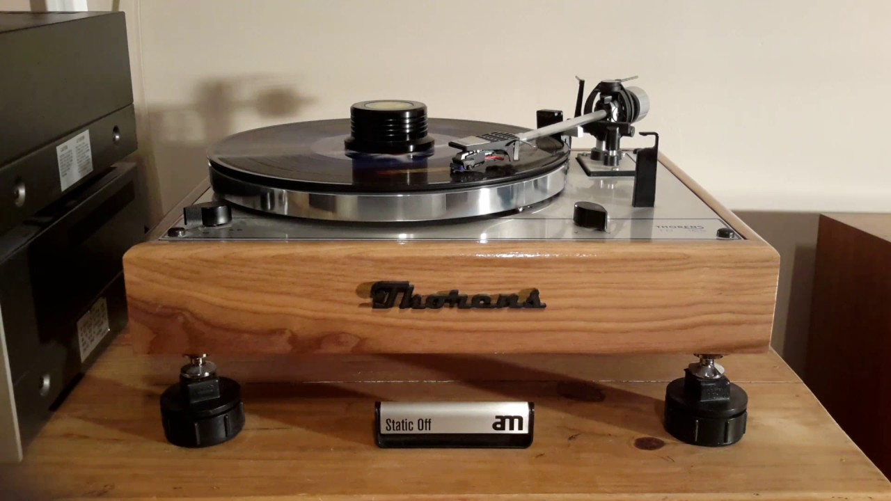 modified thorens td 165 hd playing side one of lp no sound youtube. Black Bedroom Furniture Sets. Home Design Ideas