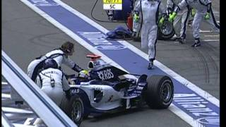 2006 R18 Brazil Start+Lap1+Rosberg Crash Premiere Natural Sound DVB-S