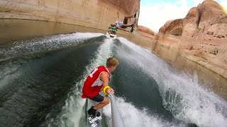 GoPro Awards: College Team Wakeboard Tricks on Lake Powell
