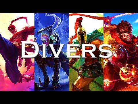 Beginner's Guide to Divers: Part 1 (Diana, Pantheon, Lee Sin, Wukong)