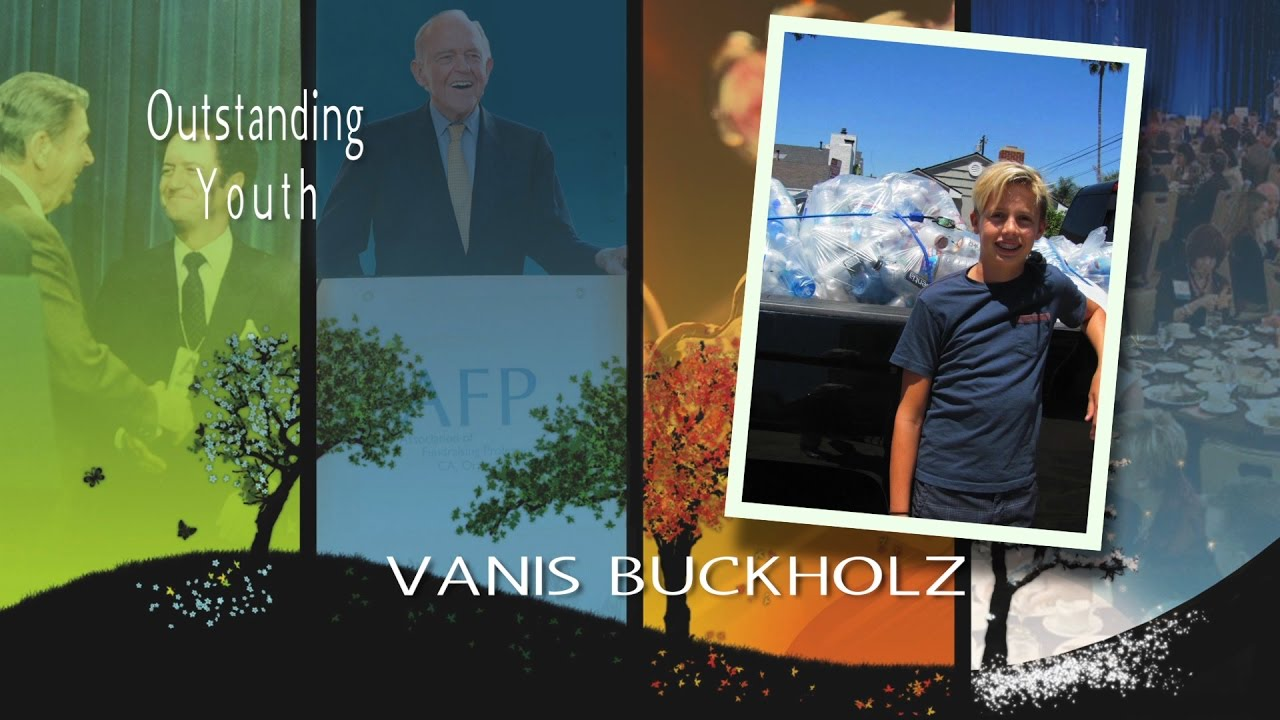 2016 National Philanthropy Day Outstanding Youth: Vanis Buckholz