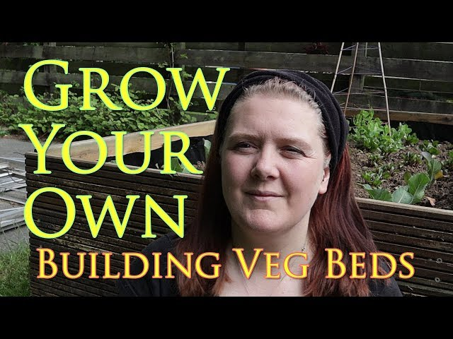 Making Raised Veg Beds from Recycled Wood - Grow Your Own